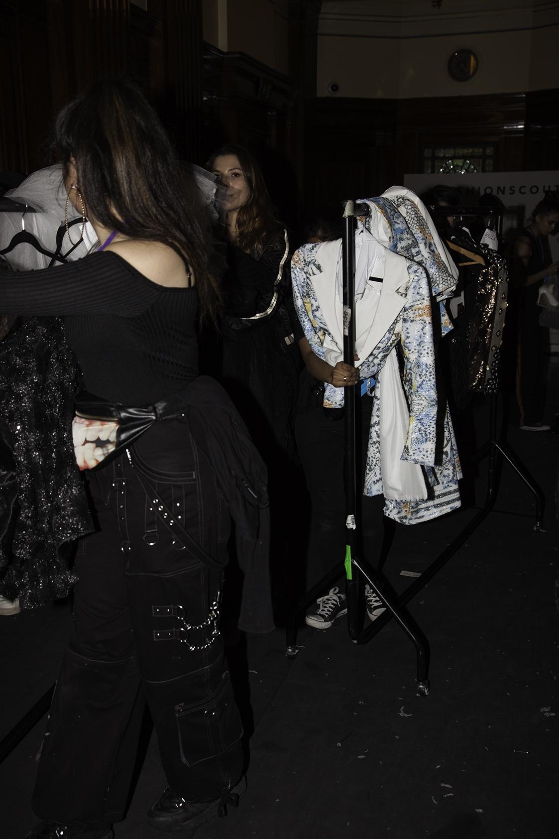 Backstage: Mimi Tran